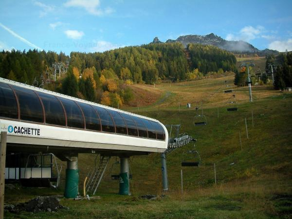 Les Arcs - Tourism, holidays & weekends guide in the Savoie