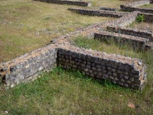 Argentomagus archaeological site - Gallo-Roman remains; in the town of Saint-Marcel