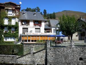 Arreau - Houses of the village; in the Bigorre area