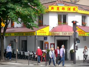Asian district - Vietnamese restaurant in the Avenue d'Ivry