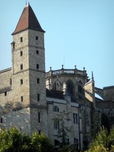 Auch - Armagnac tower (former jail) and Sainte-Marie cathedral