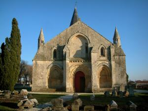 Aulnay-de-Saintonge church - Saint-Pierre church (Romanesque art)