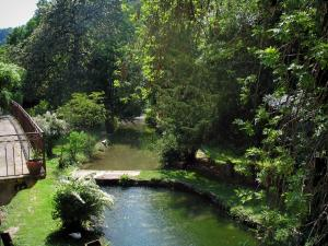 Autoire - River and trees, in the Quercy