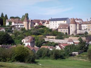 Autun - Houses of the city