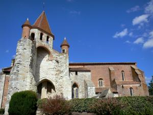 Auvillar - Saint-Pierre church, a former Benedictine priory