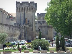 Avignon - Ramparts with towers