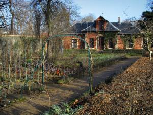 Bagatelle park - Pavilion of the Bagatelle kitchen garden