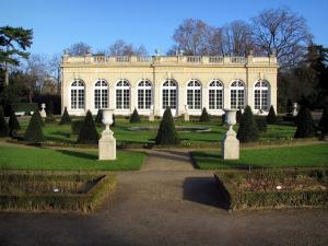Bagatelle park - Orangery and garden of the Bagatelle park