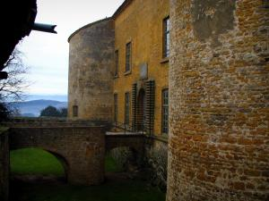 Bagnols - Castle in the Pierres Dorées (golden stones) area
