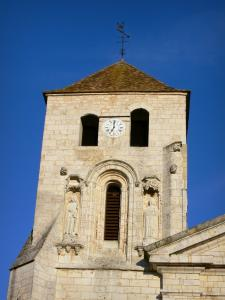 Barbezieux - Bell tower of the Saint-Mathias church