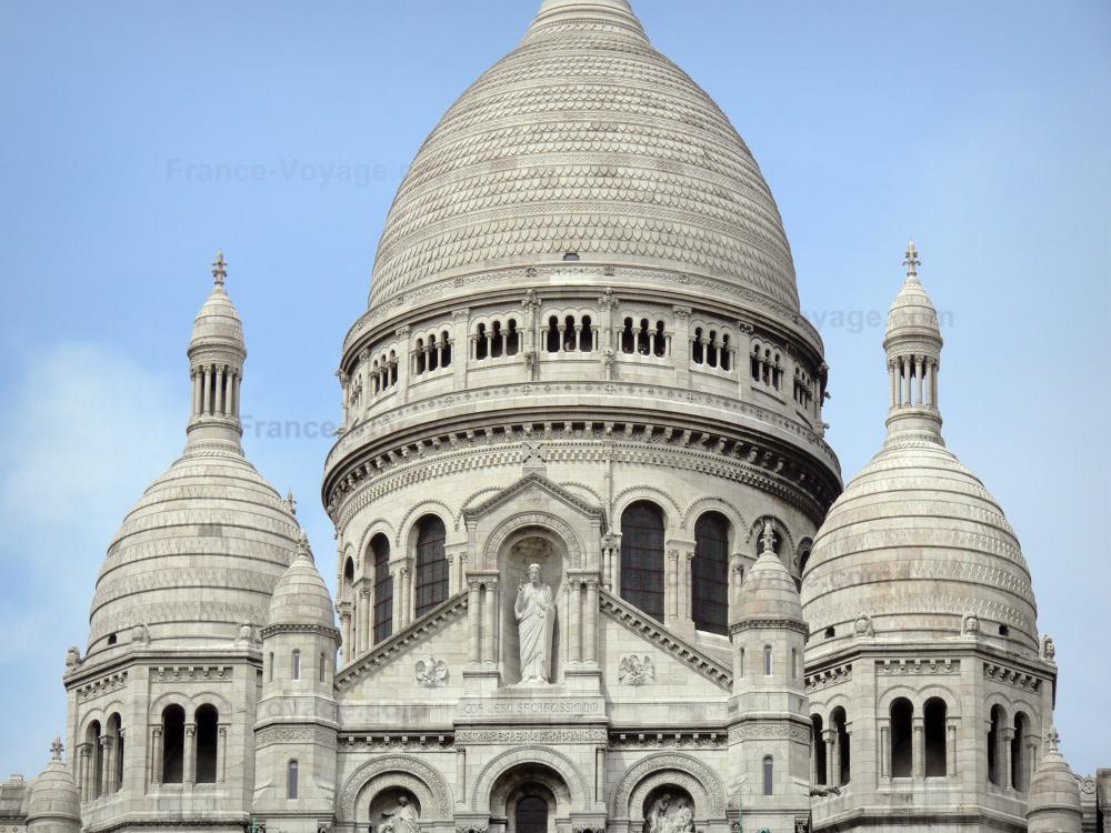 how to get to sacre coeur paris