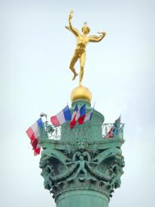 Bastille - Spirit of Liberty at the top of the July column