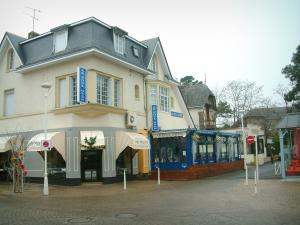 La Baule - Houses of the seaside resort