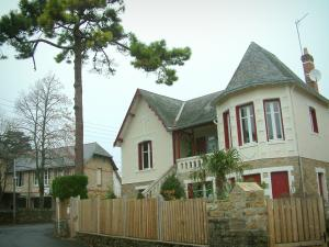 La Baule - Houses (villas) of the seaside resort
