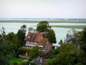 Bay of Somme - Saint-Valery-sur-Somme: villas with view of the bay