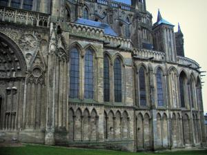 Bayeux - Notre-Dame cathedral of Gothic style