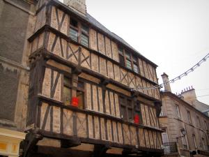 Bayeux - Half-timbered house