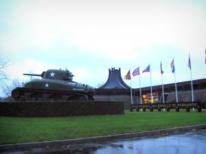 Bayeux - Memorial museum of the Battle of Normandy