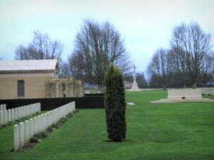 Bayeux British cemetery - Tombs of the British military cemetery