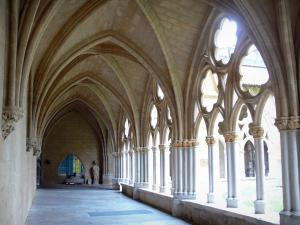 Bayonne - Cloister gallery of the Sainte-Marie cathedral
