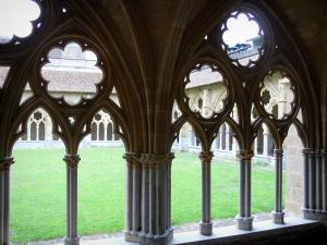 Bayonne - Gothic cloister of the Sainte-Marie cathedral