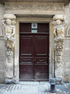 Beaucaire - Margallier town house (home of the caryatids)