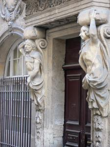 Beaucaire - Sculpture of the Margallier town house (home of the caryatids)