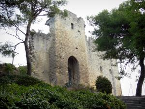 Beaucaire - Remains of the castle