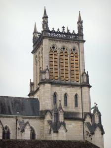 Belley - Bell tower of the Saint-Jean-Baptiste cathedral