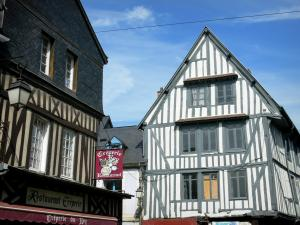 Bernay - Half-timbered facades of the old town