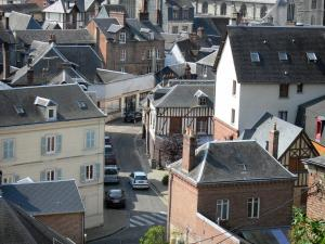 Bernay - View over the roofs of the town