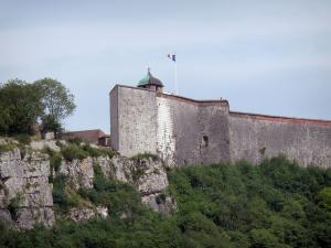 Besançon - Vauban citadel: ramparts and the Reine tower
