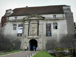 Besançon - Entrance to the Vauban citadel