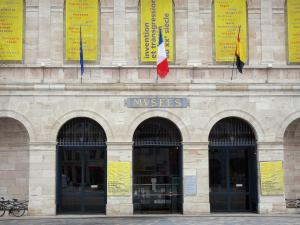 Besançon - Facade of the Fine art and Archaeology museum
