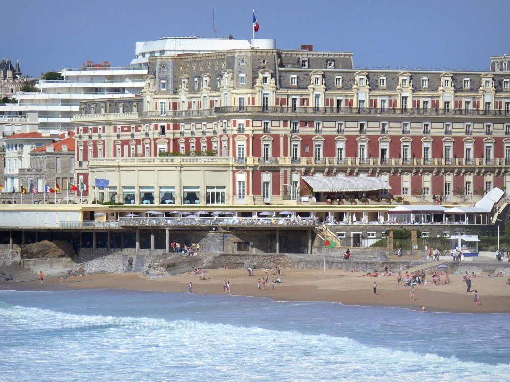 Photos biarritz guide tourisme vacances - Prix chambre hotel du palais biarritz ...