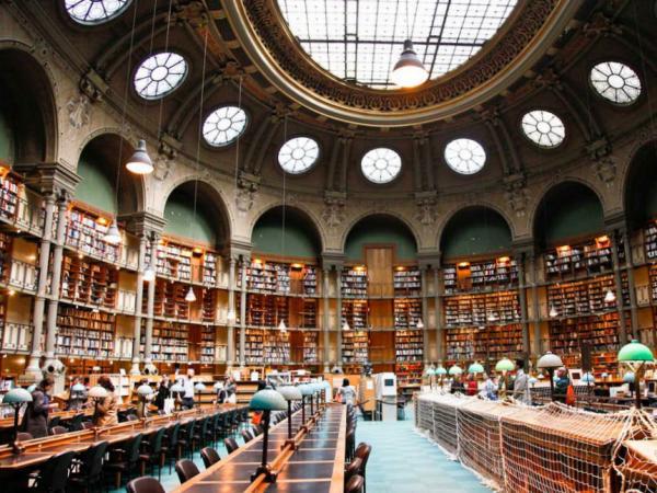 La Biblioth 232 Que Nationale De France Site Richelieu