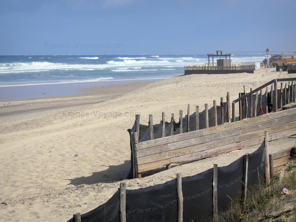 photos biscarrosse plage guide tourisme vacances. Black Bedroom Furniture Sets. Home Design Ideas