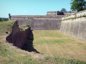 Blaye citadel - Fortifications of the citadel