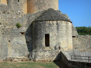 Bonaguil castle - Gunpowder store of the fortress (fortified castle)