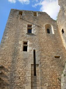 Bonaguil castle - Part of the fortress (fortified castle)