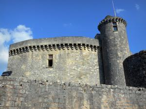Bonaguil castle - Keep of the fortress (fortified castle)