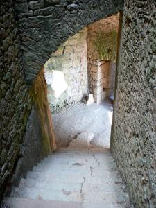 Bonaguil castle - Inside the fortress (fortified castle)