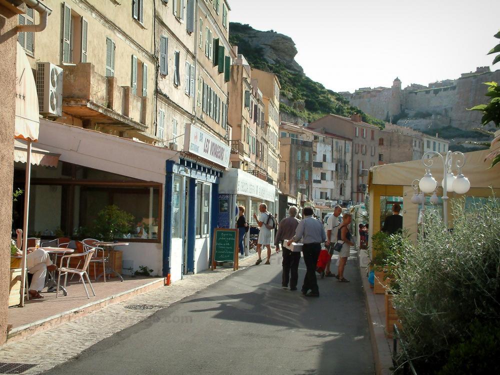 Photos bonifacio et ses falaises blanches guide for Restaurant bonifacio port