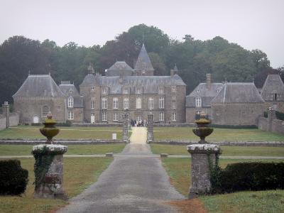 Bourbansais castle