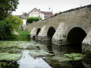 Boussy-Saint-Antoine - Old bridge over River Yerres