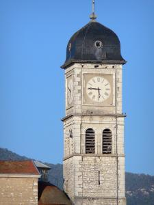 Brangues - Bell tower of the Saint-Pierre church