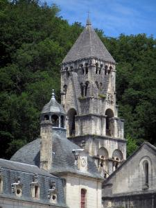 Brantôme - Romanesque bell tower of the abbey church