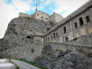 Briançon - Upper town (Vauban citadel, fortified town built by Vauban): fortification of the castle
