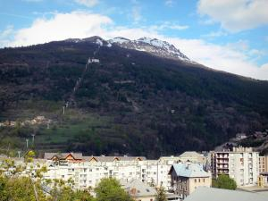 Briançon - Buildings of the city and mountain