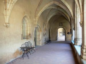 Brou Royal Monastery - Gallery of the first cloister